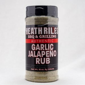 Heath Riles-Garlic Jalapeno Rub