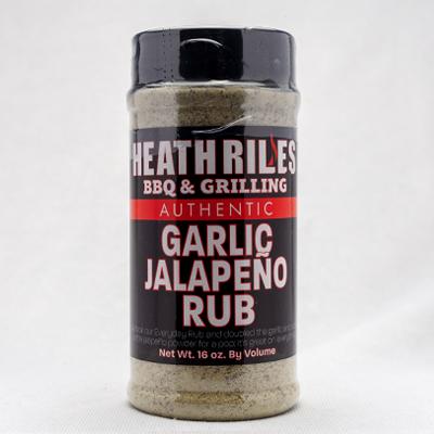 Heath Riles-Garlic Jalapeno Rub