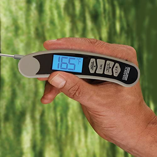 Right-handed thermoocouple thermometer
