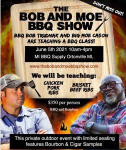 BBQ Bob and Moe Cason